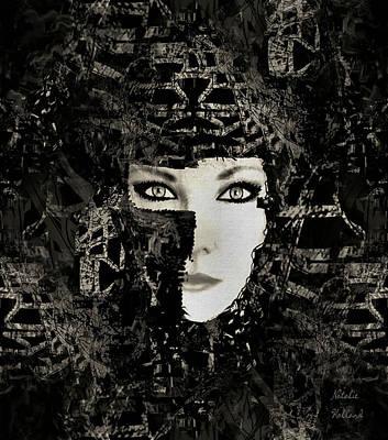 Mixed Media - Lady Warrior by Natalie Holland