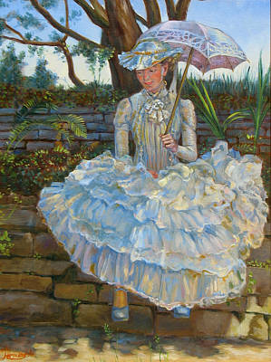 Lady With A Parasol Original
