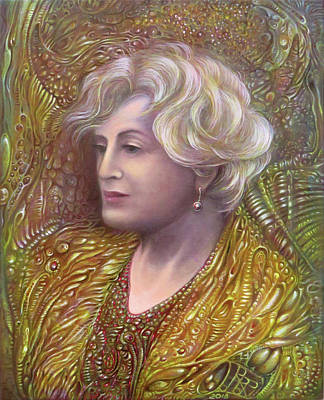 Painting - Lady Z by Otto Rapp