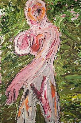 Lady08 Art Print by Ira Stark