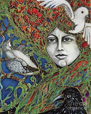Painting - Ladybird by Rae Chichilnitsky