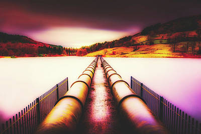 Photograph - Ladybower Reservoir - Derbyshire by Pixabay