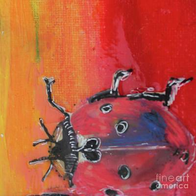 Painting - Ladybug Luxe by Kim Nelson