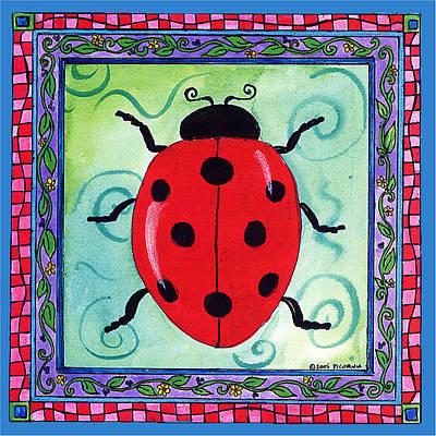 Painting - Ladybug by Pamela  Corwin