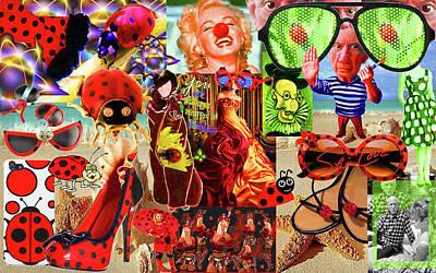Ladybugz Galore Art Print