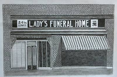 Drawing - Lady's 1934 by Tony Clark