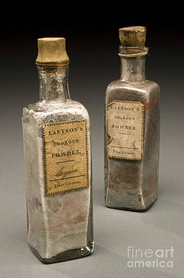 Charlatan Photograph - Laeysons Odorous Powders, Quack Cure by Wellcome Images