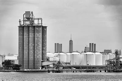 Photograph - Lafarge Cement Plant by Steven Richman