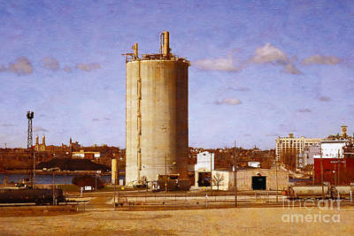 Digital Art - Lafarge by David Blank