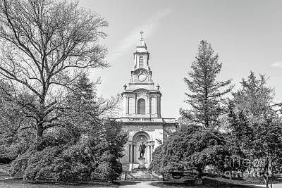 Lafayette College Colton Chapel Horizontal Art Print