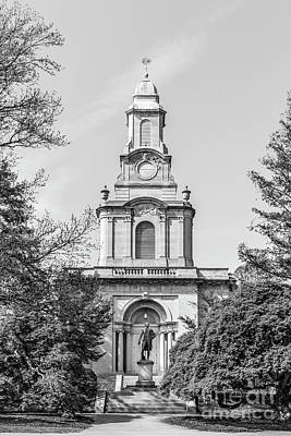 Diploma Photograph - Lafayette College Colton Chapel Vertical by University Icons