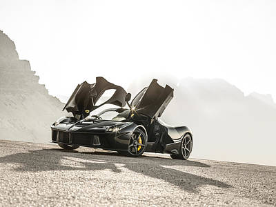 Photograph - Laferrari Sunrise In The Dolomites by George Williams