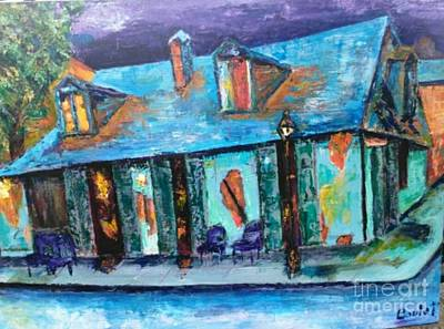 Painting - Lafitte's by Beverly Boulet