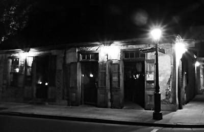 Photograph - Lafittes Blacksmith Shop Bar by Greg Mimbs