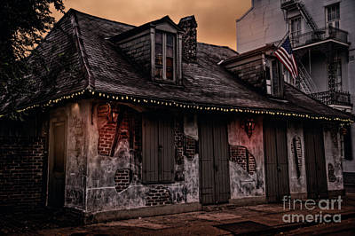 Photograph - Lafitte's Blacksmith Shop by Jarrod Erbe