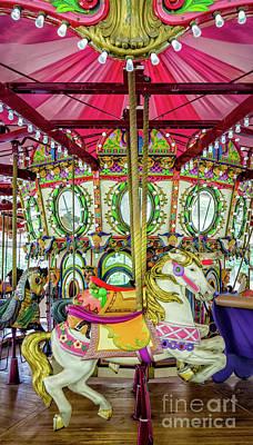 Photograph - Lafreniere Carousel - Nola  by Kathleen K Parker