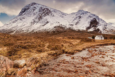 Glencoe Photograph - Lagangarbh Hut by Will Goodwin