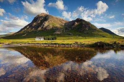 Photograph - Lagangarbh Reflections by Stephen Taylor