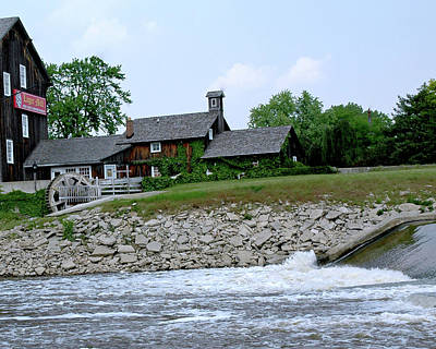 Usa Photograph - Lager Mill Frankenmuth Michigan Iv by LeeAnn McLaneGoetz McLaneGoetzStudioLLCcom