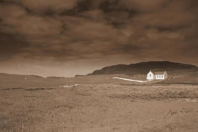 Donegal Photograph - Lagg Church by John Quinn