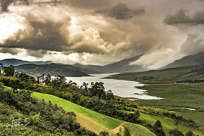 Photograph - Lago Calima by Francisco Gomez