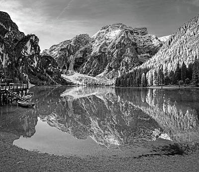 Photograph - Lago Di Braies by Angie Schutt