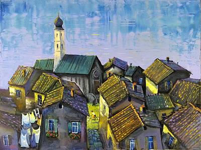 Painting - Lago   Caldonazza by Mikhail Zarovny