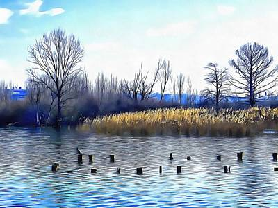 Photograph - Lago Di Chiusi Tuscany by Dorothy Berry-Lound