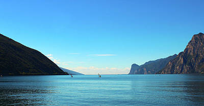 Photograph - Lago Di Garda Wall Art Prints Photography - Garda Lake Italy by Wall Art Prints