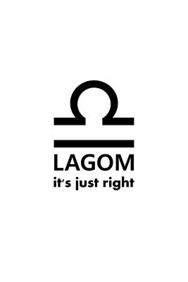 Digital Art - Lagom - Just Right by Richard Reeve