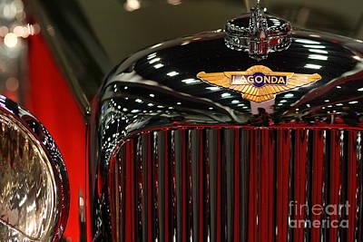 Lagonda Badge 2 Print by Wingsdomain Art and Photography