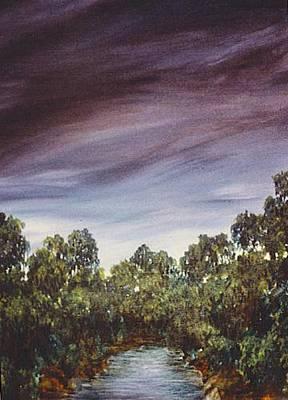 Painting - Lagoon by Jacki Randall
