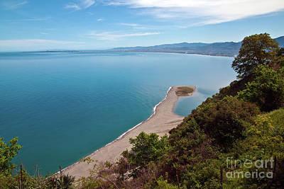 Lagoon Of Tindari On The Isle Of Sicily  Art Print