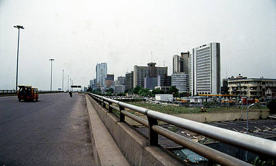 Photograph - Marina Skyline From Eko Bridge by Muyiwa OSIFUYE