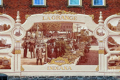 Photograph - Lagrange Indiana Mural by David Arment