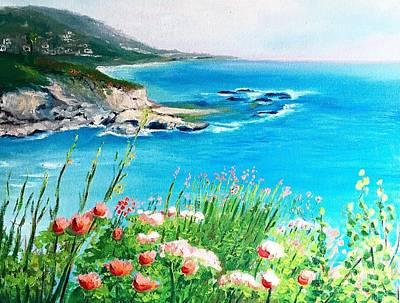 Painting - Laguna Beach Ca by Armando Renteria