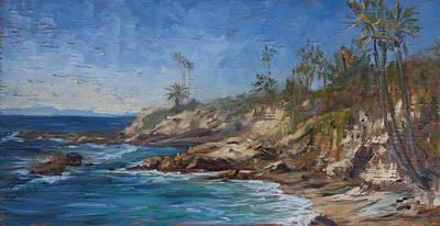 Painting - Laguna Beach by Chapman Hamborg