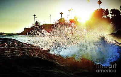 Photograph - Laguna Beach Cliffs 1  by Jenny Simon Photography
