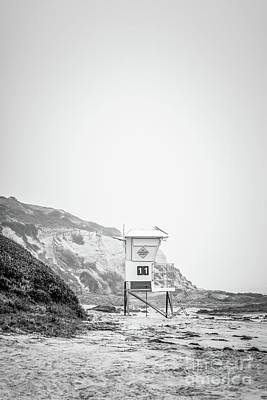 Eleven Photograph - Laguna Beach Crystal Cove Lifeguard Tower #11 by Paul Velgos