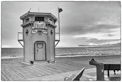 Photograph - Laguna Beach Lifeguard Tower by Cliff Wassmann