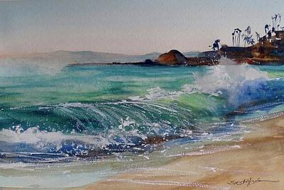 Painting - Laguna Beach North View by Sandra Strohschein