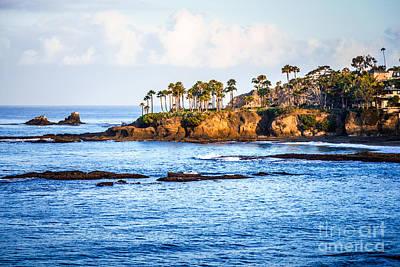 Laguna Beach Wall Art - Photograph - Laguna Beach Orange County California Picture by Paul Velgos