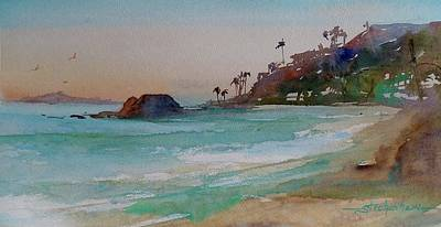 Painting - Laguna Beach Plein Air by Sandra Strohschein