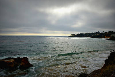 Beach Scenes Photograph - Laguna Beach Sunset by Glenn McCarthy Art and Photography