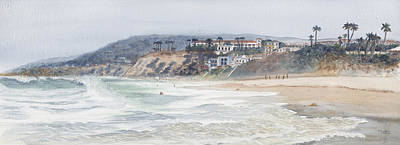 Laguna Beach Art Print by Tom Dorsz