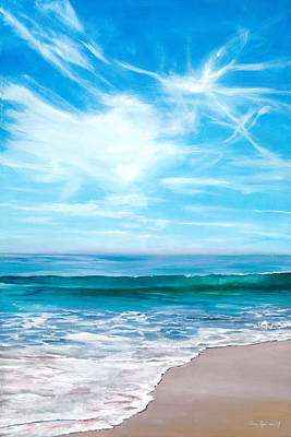 Painting - Laguna Christmas by Lisa Reinhardt