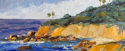 Painting - Laguna Cliffs by Vicki Gumm