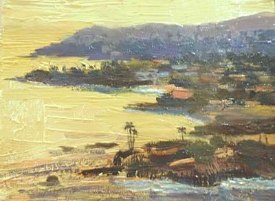 Painting - Laguna Gold by Kathleen Strukoff