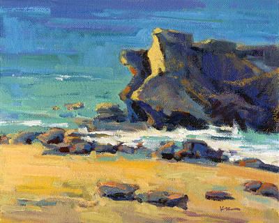 Painting - Laguna Rocks 2 by Konnie Kim