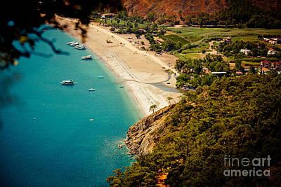 Abstract Animalia - Laguna Seascape Turkey by Raimond Klavins